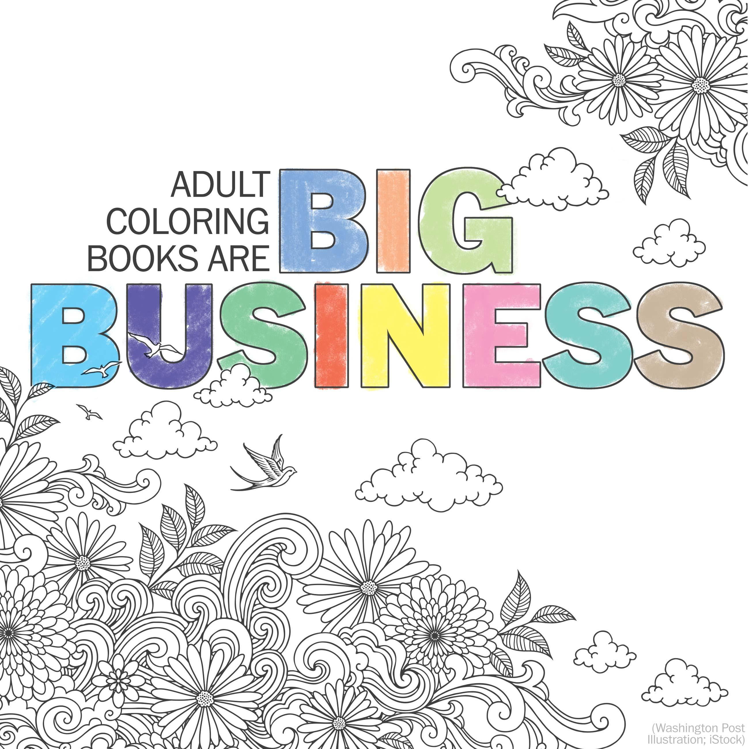 The big business behind the adult coloring book craze
