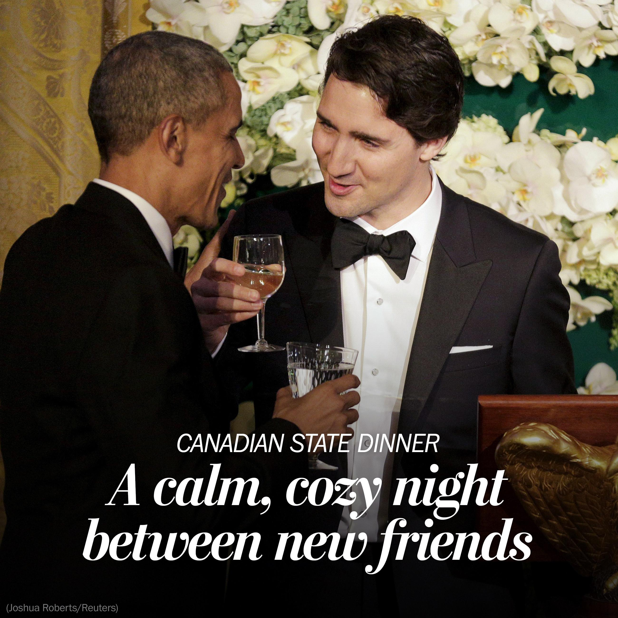 President Obama and PM Trudeau solidify 'special connection' between U.S. and Canada at State Dinner
