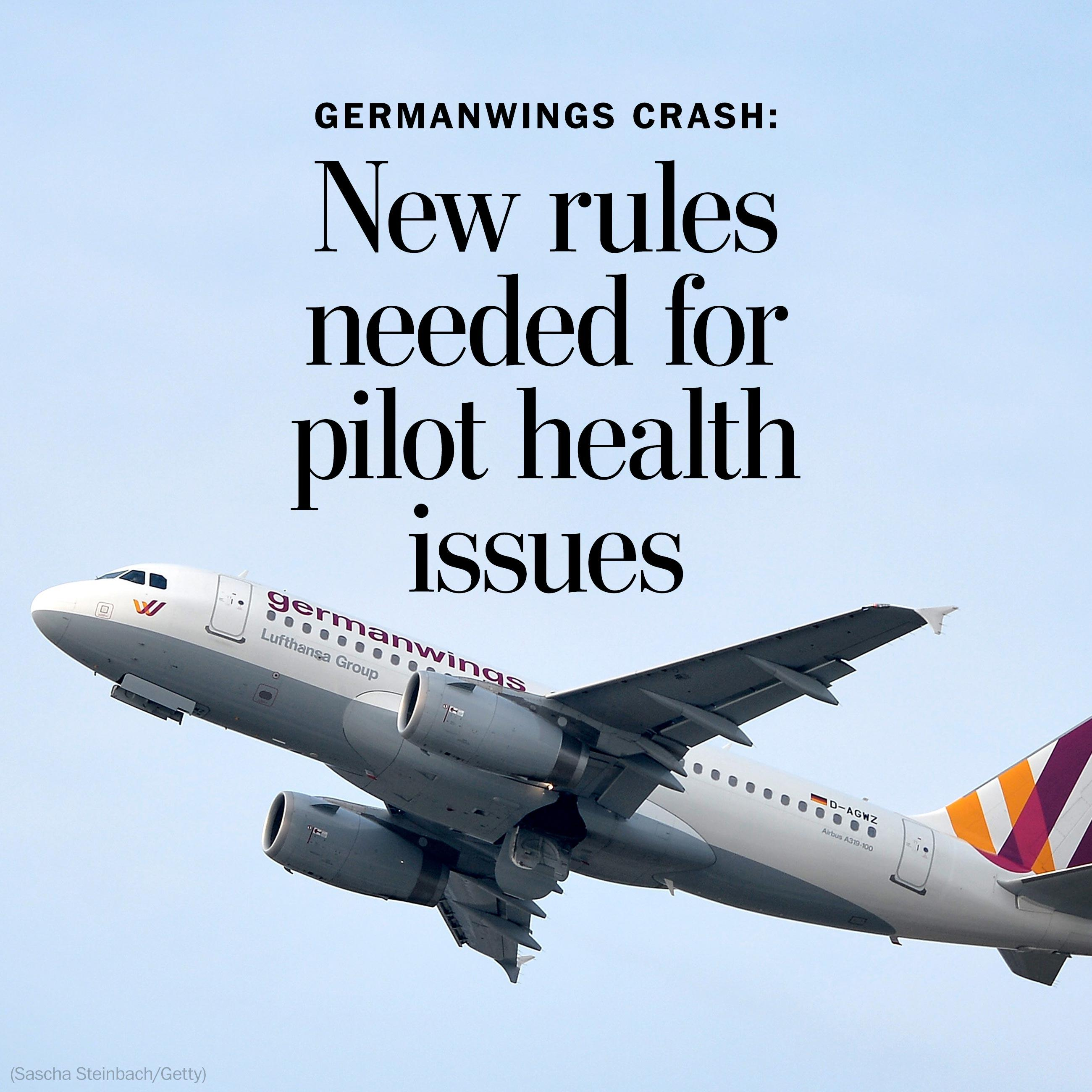 Germanwings crash: French urge new health reporting rules