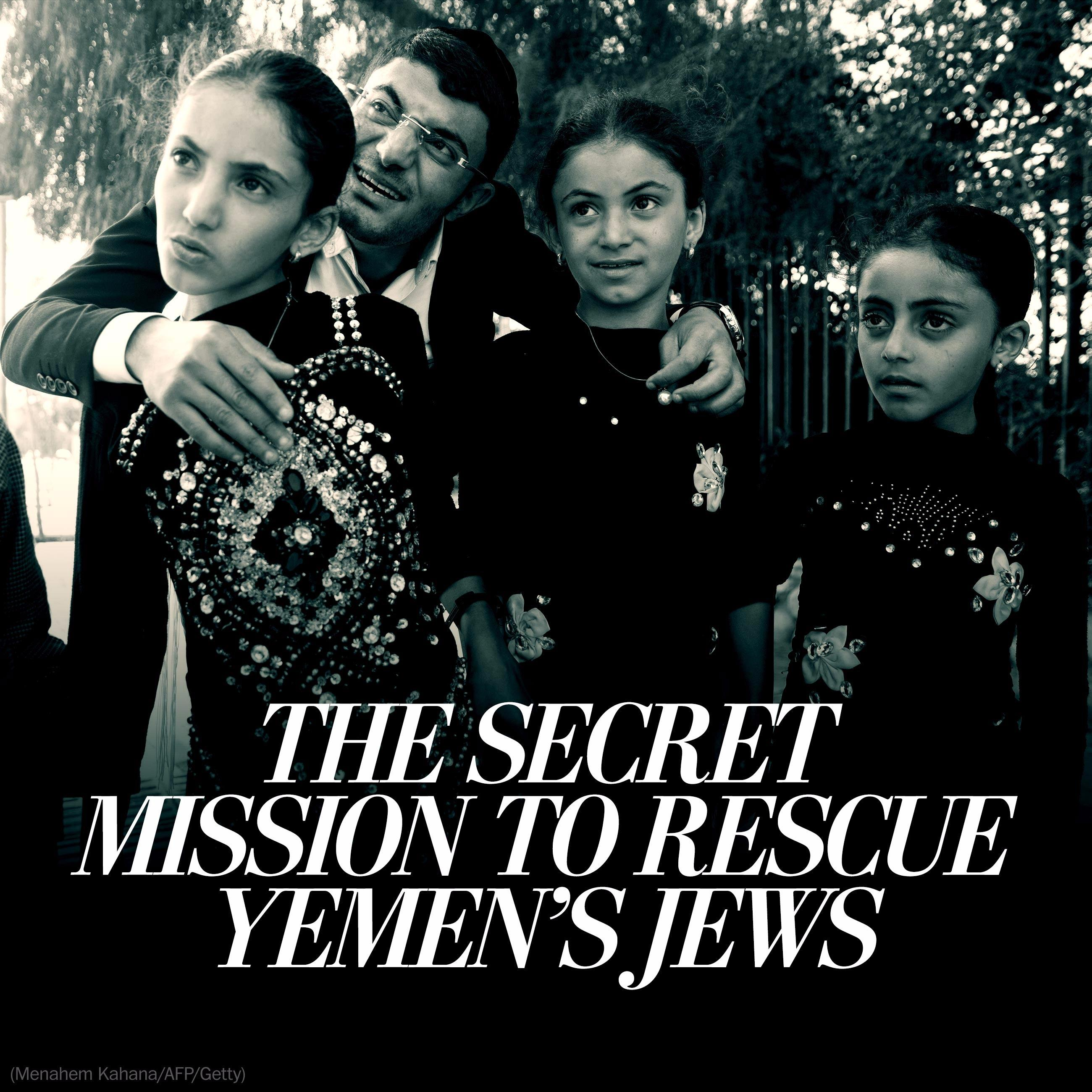 In secret mission, 17 Yemeni Jews escape civil war for new life in Israel