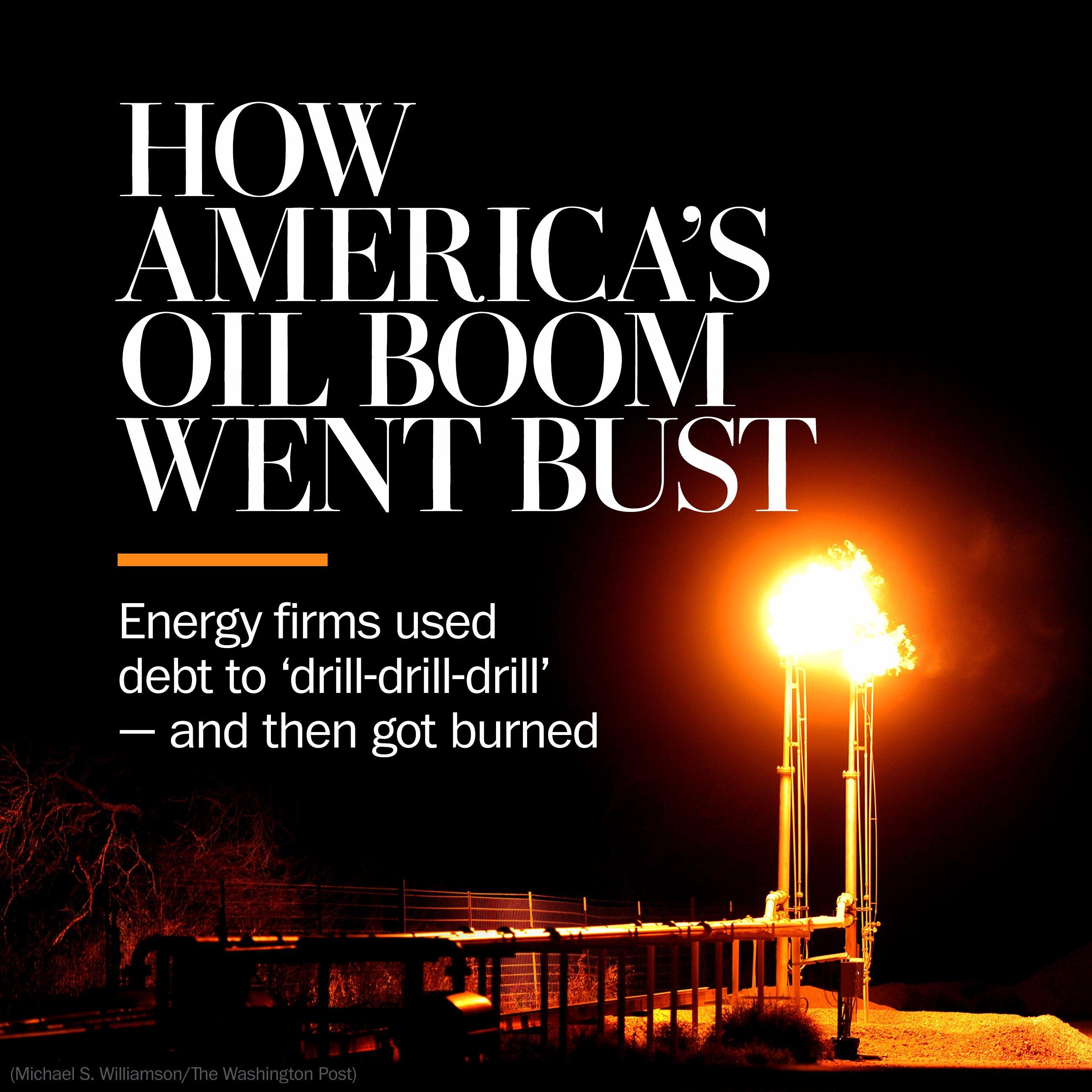 The big bust in the oil fields
