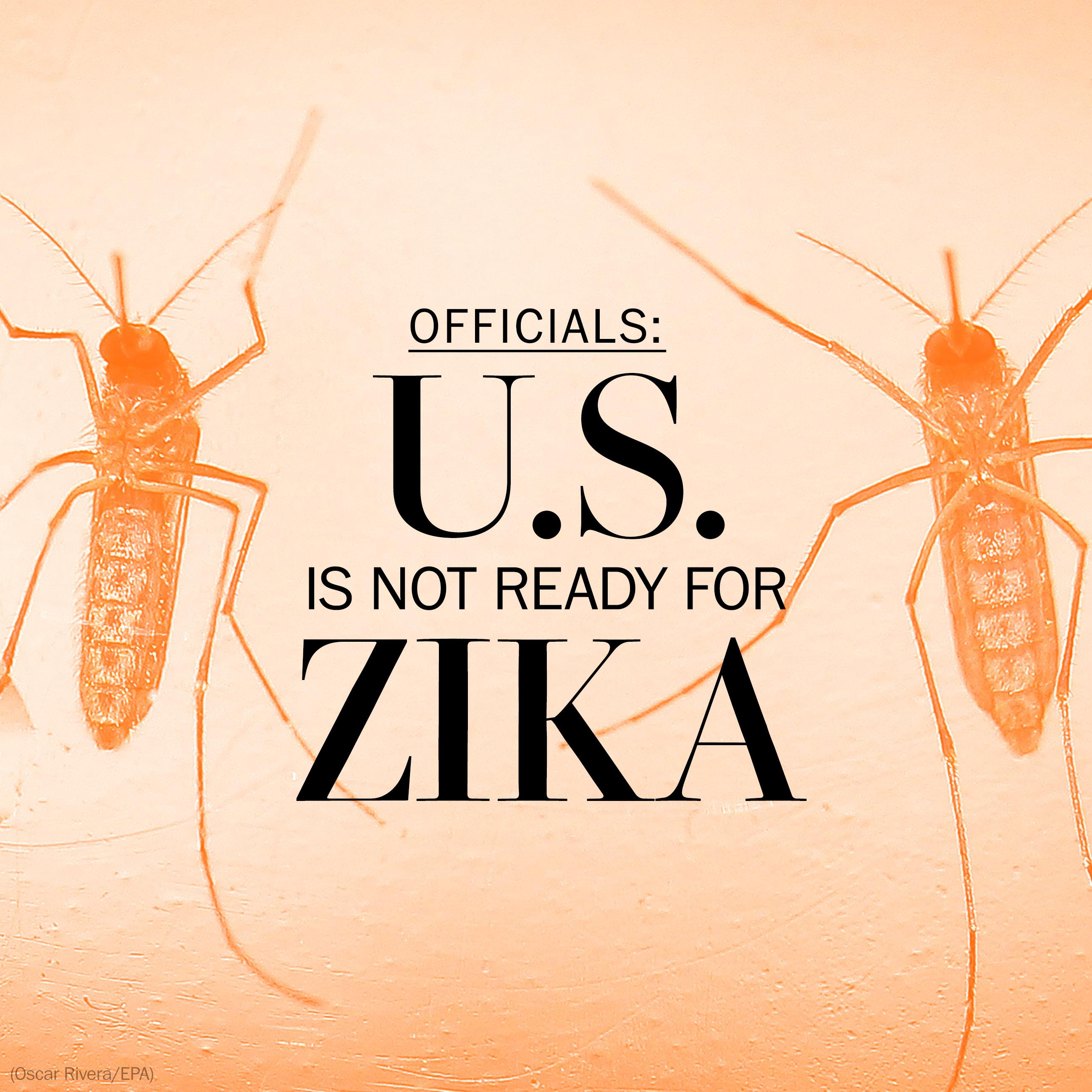 As mosquito season arrives, is the U.S. ready for Zika?
