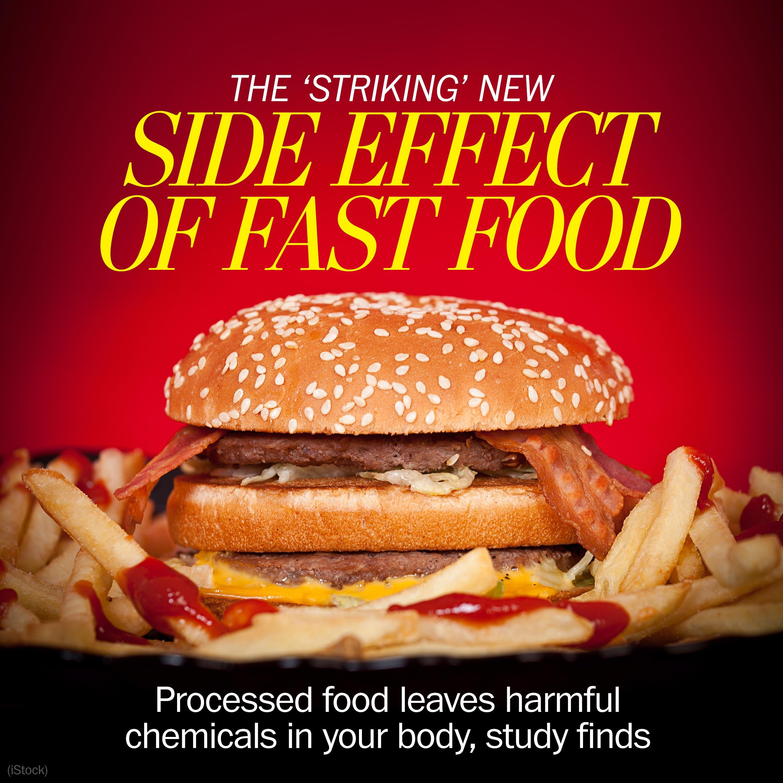 "Researchers have found an ""alarming"" new side effect from eating fast food"