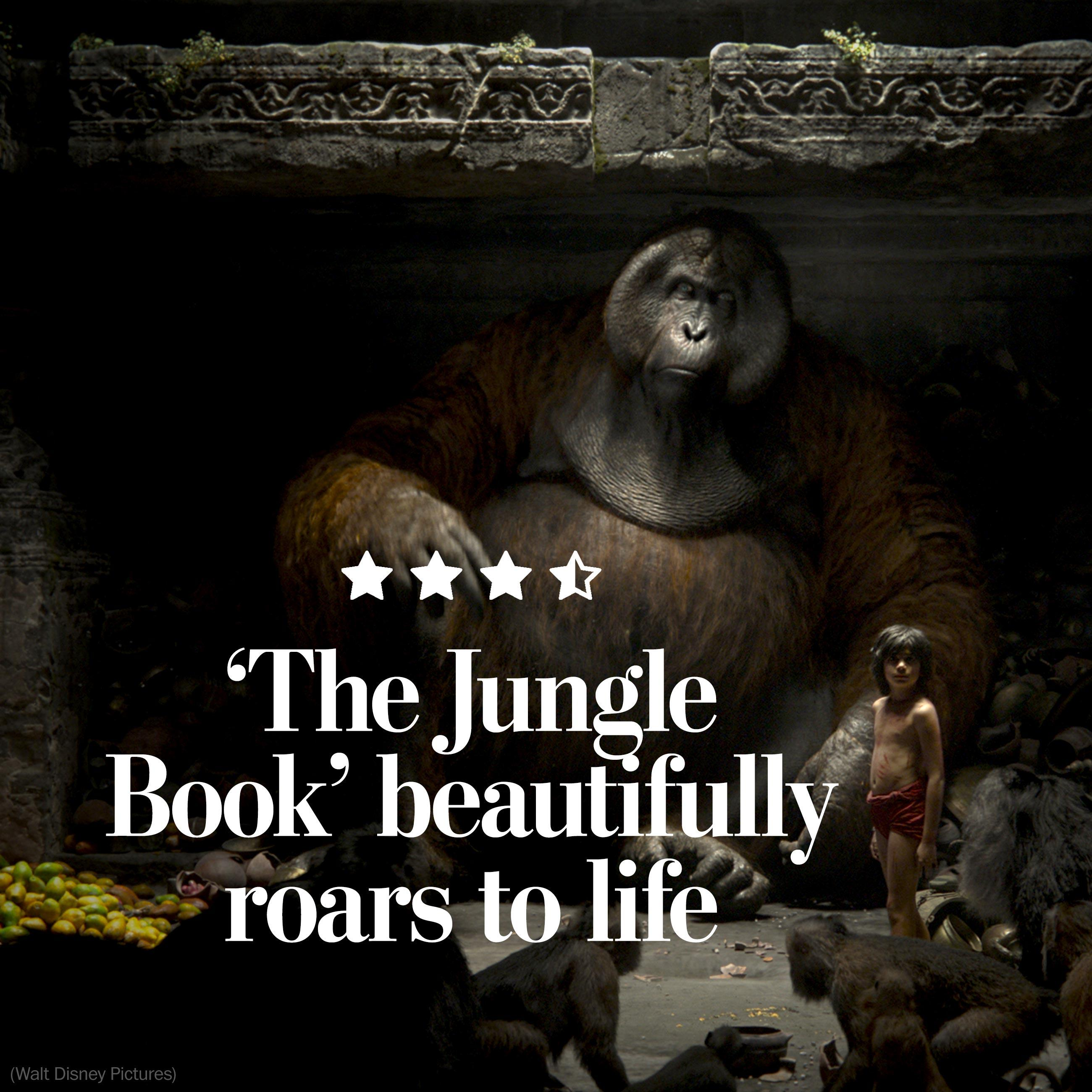 'The Jungle Book' leaps off the screen — to dazzling effect