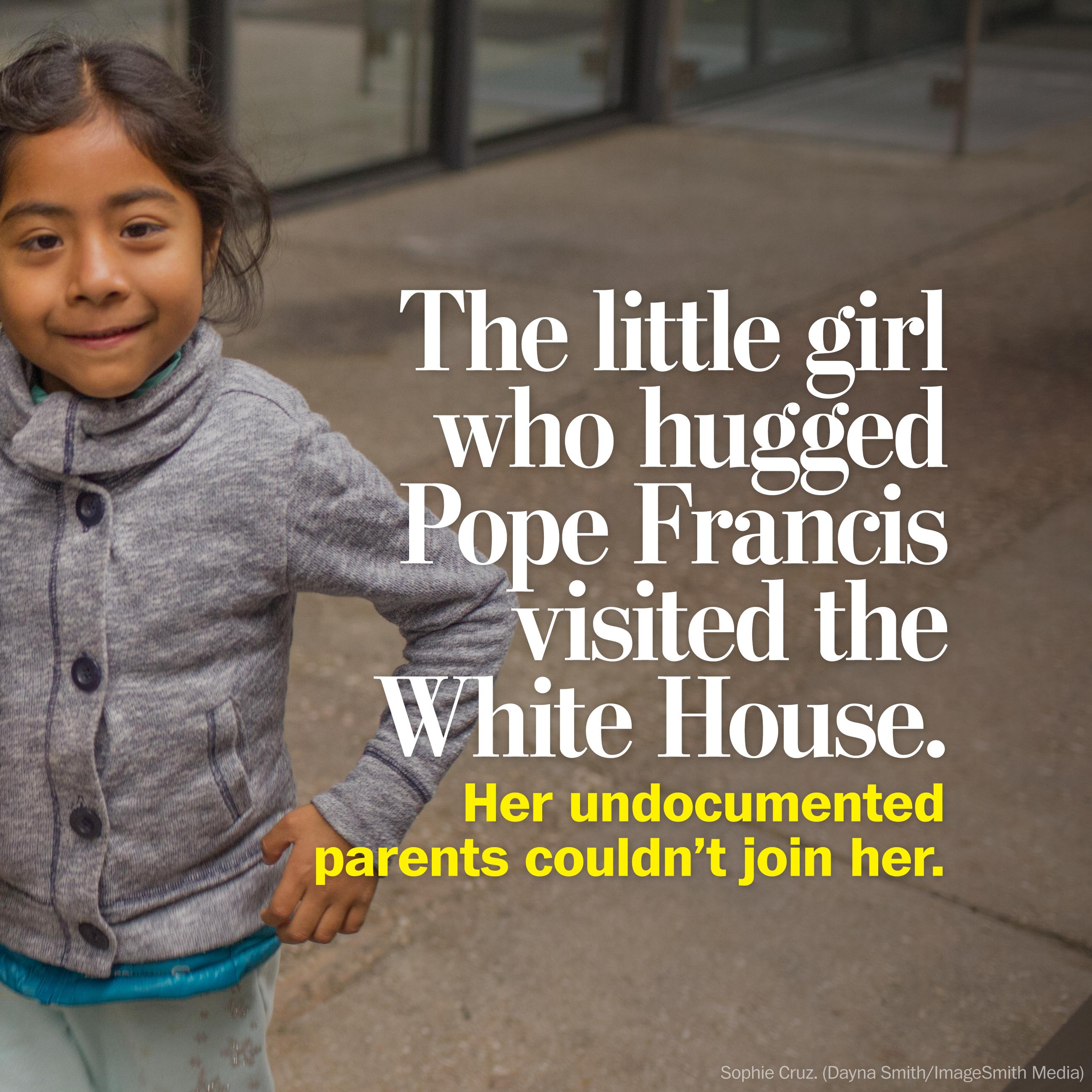 Here's what little Sophie Cruz will do at the White House Thursday