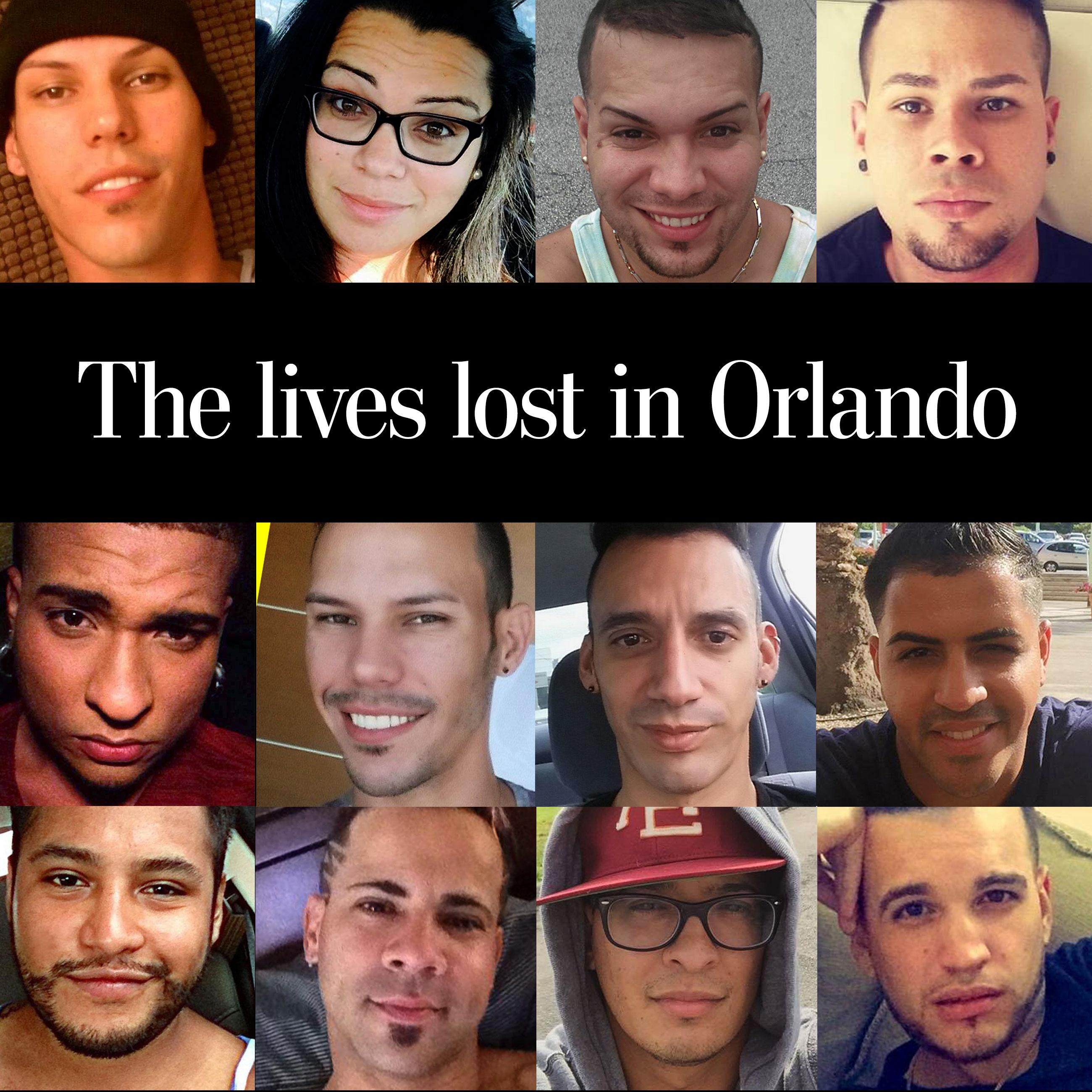 The lives lost in Orlando