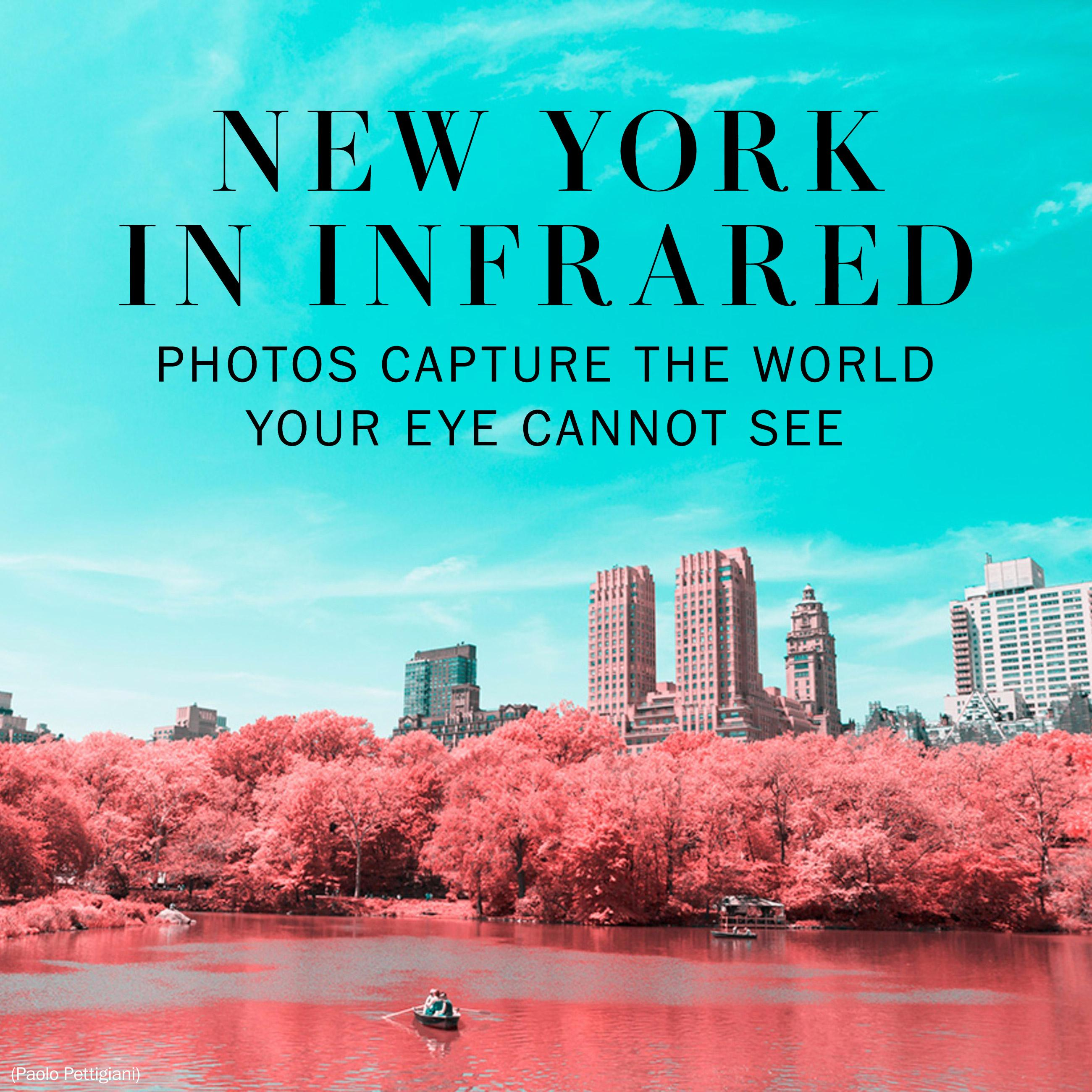 What the world looks like in infrared