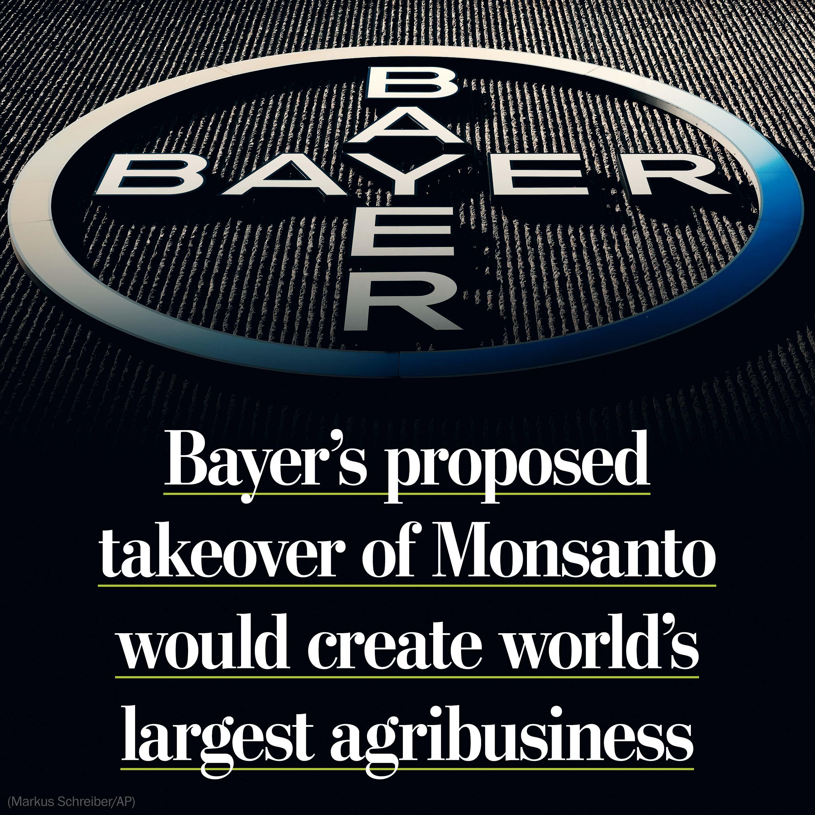 Bayers offers $62 million to buy Monsanto