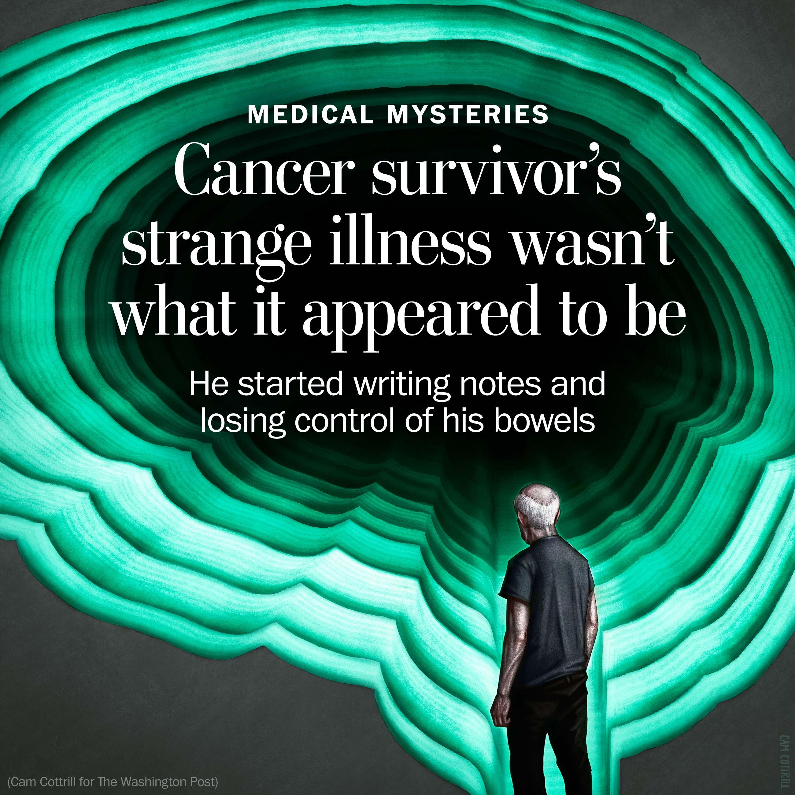 He beat leukemia. But then, mysteriously, things got really bad.