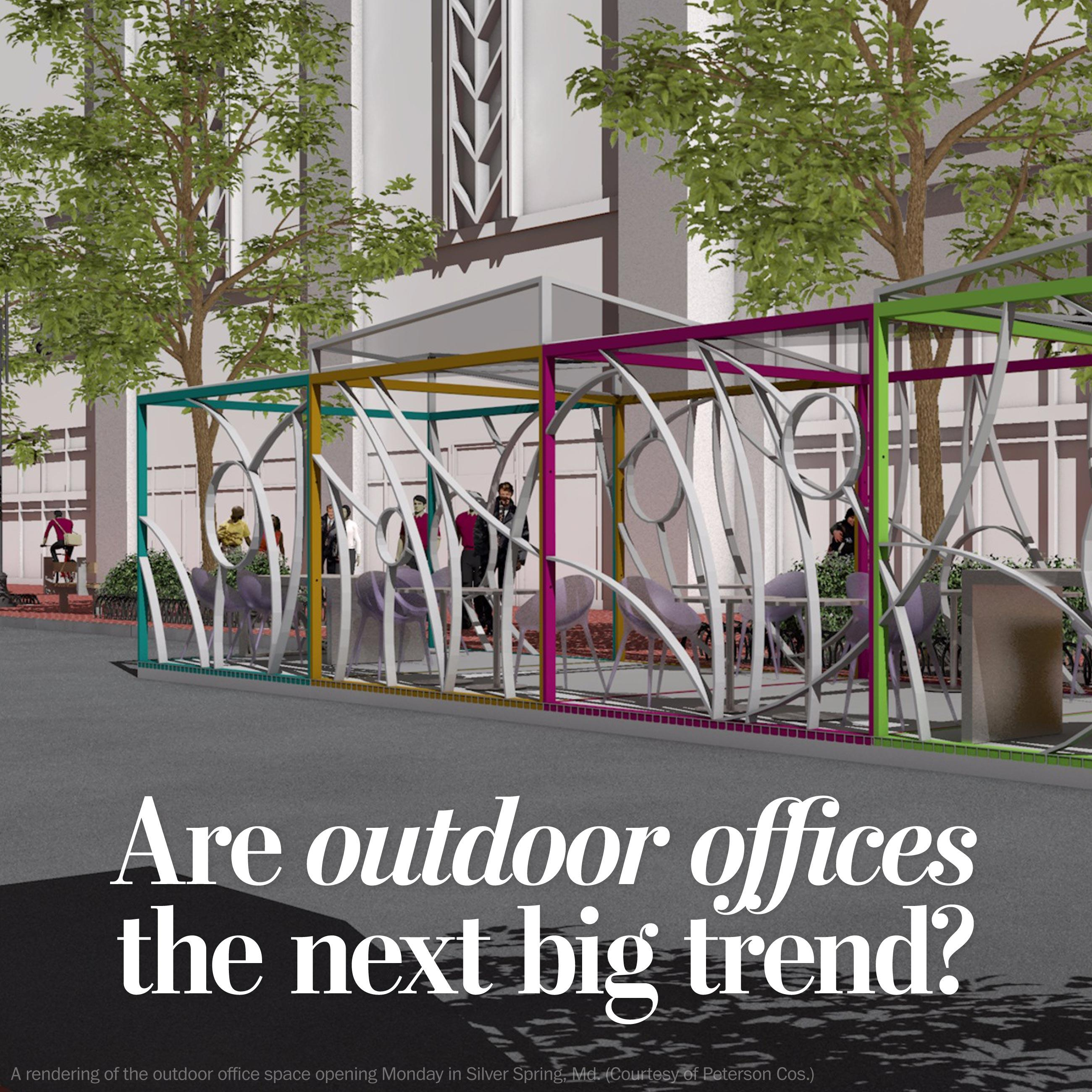 Are outdoor offices the next revolution?