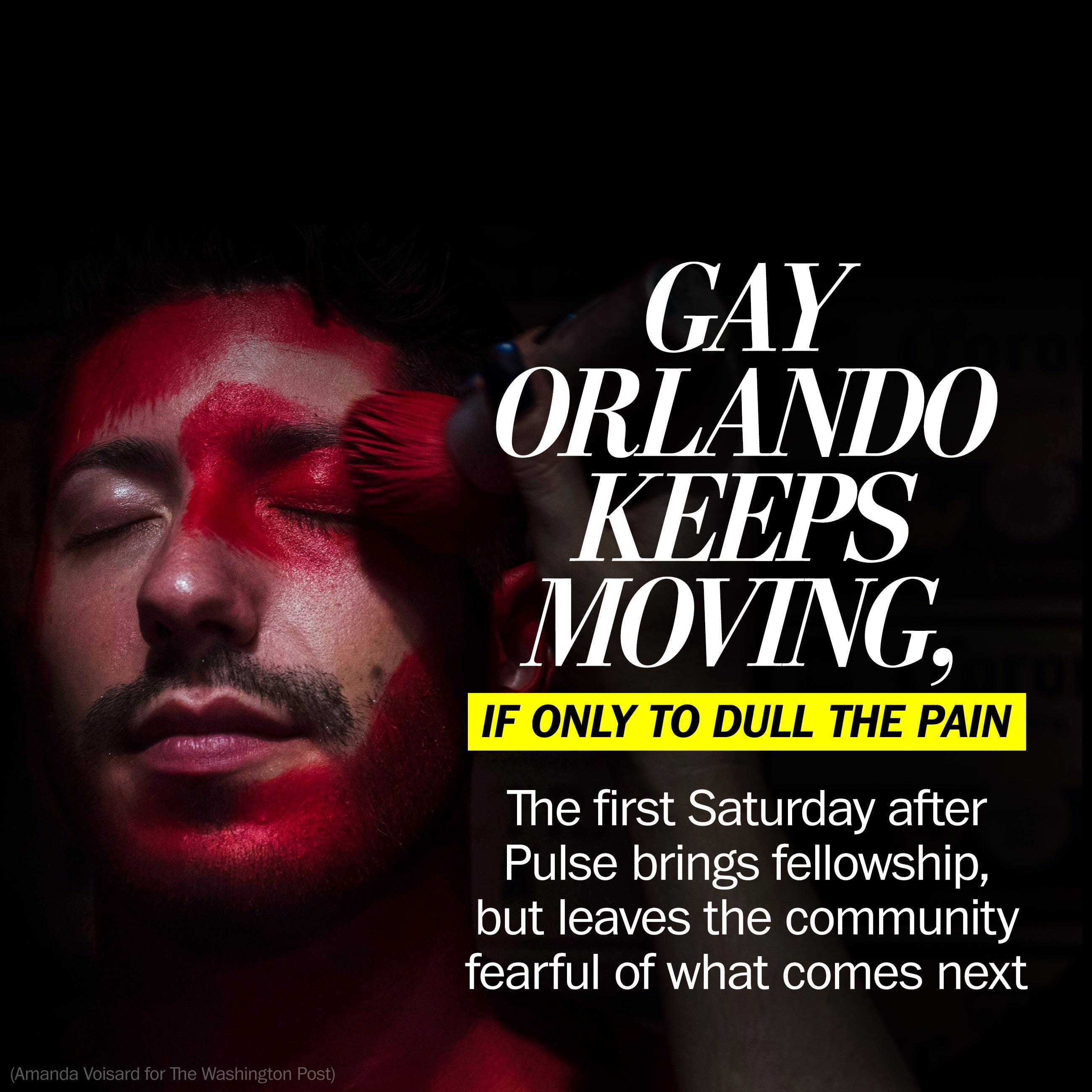 Gay Orlando grapples with first Saturday after Pulse: 'I feel like I have to be out'