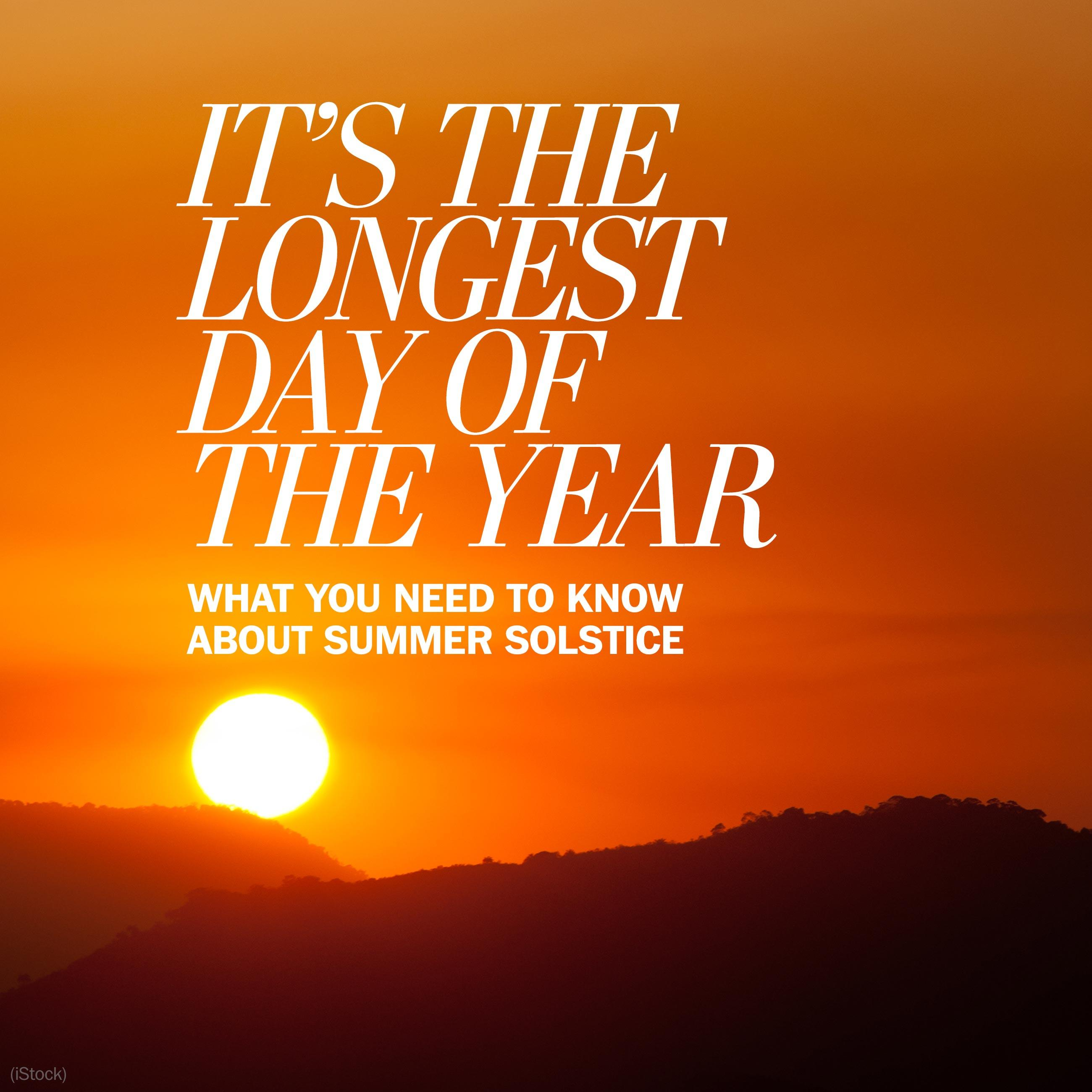 Summer solstice 2016: Everything you need to know about the longest day of the year