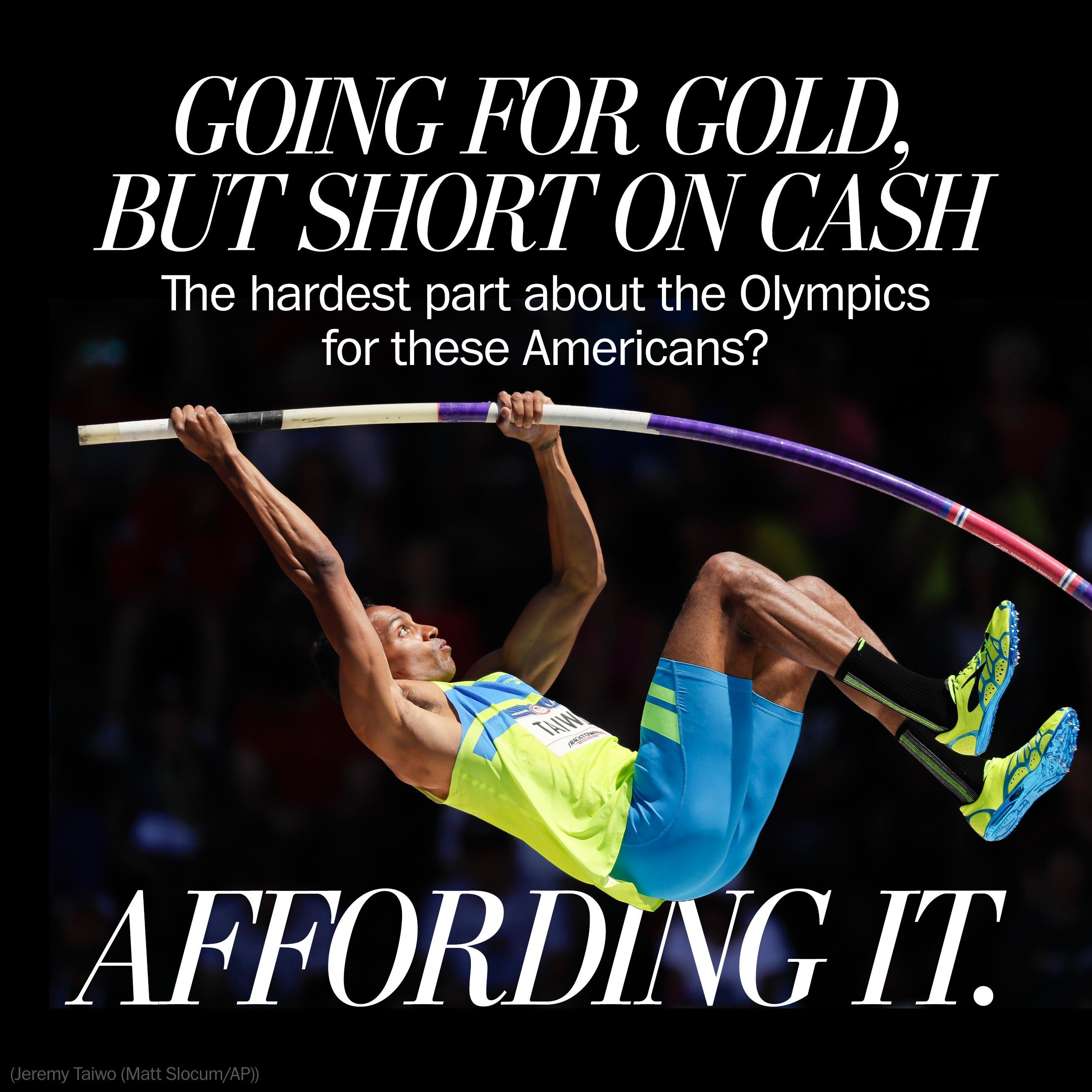 The hardest part about making the Olympics for these Americans? Affording it.