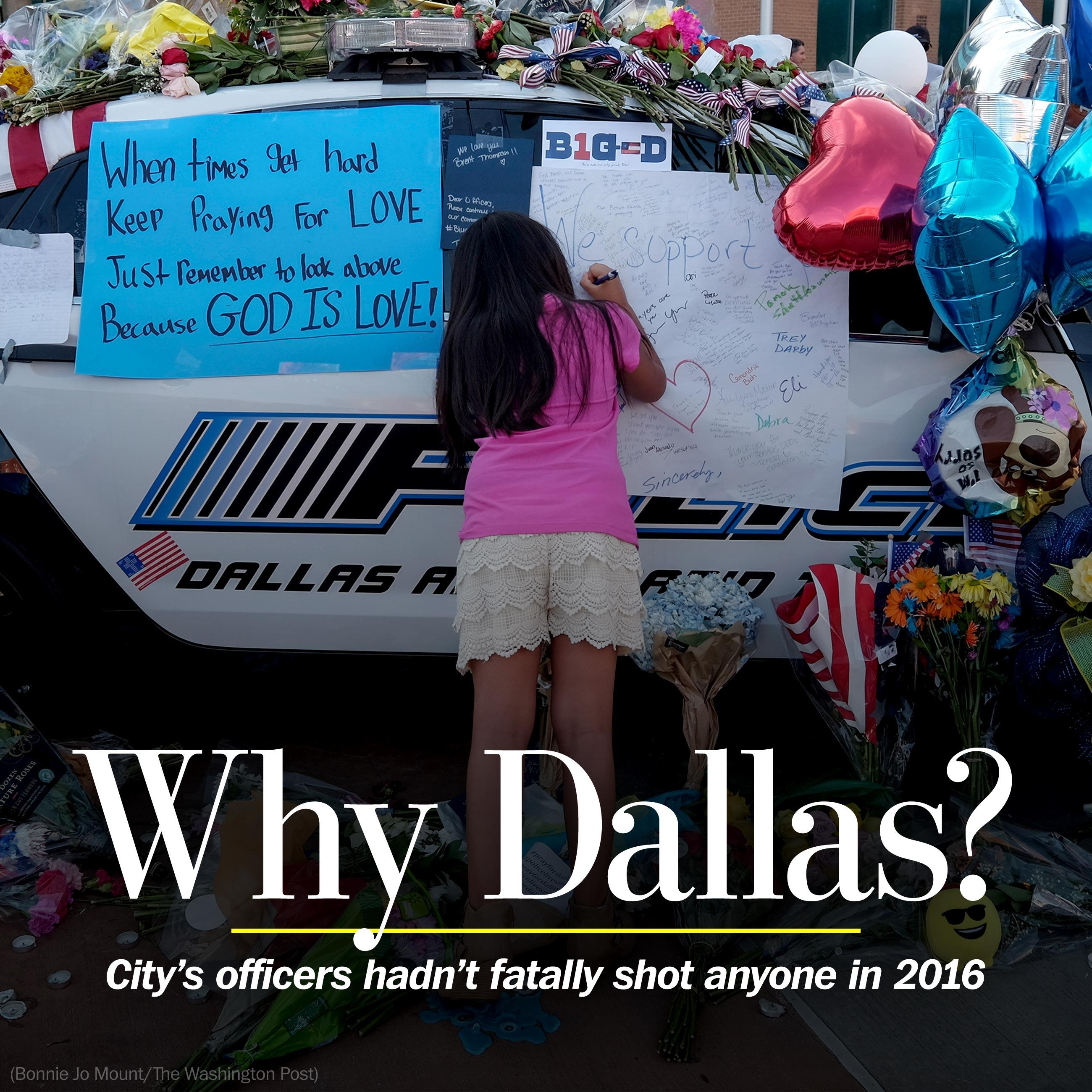 The question in Dallas: Why here?
