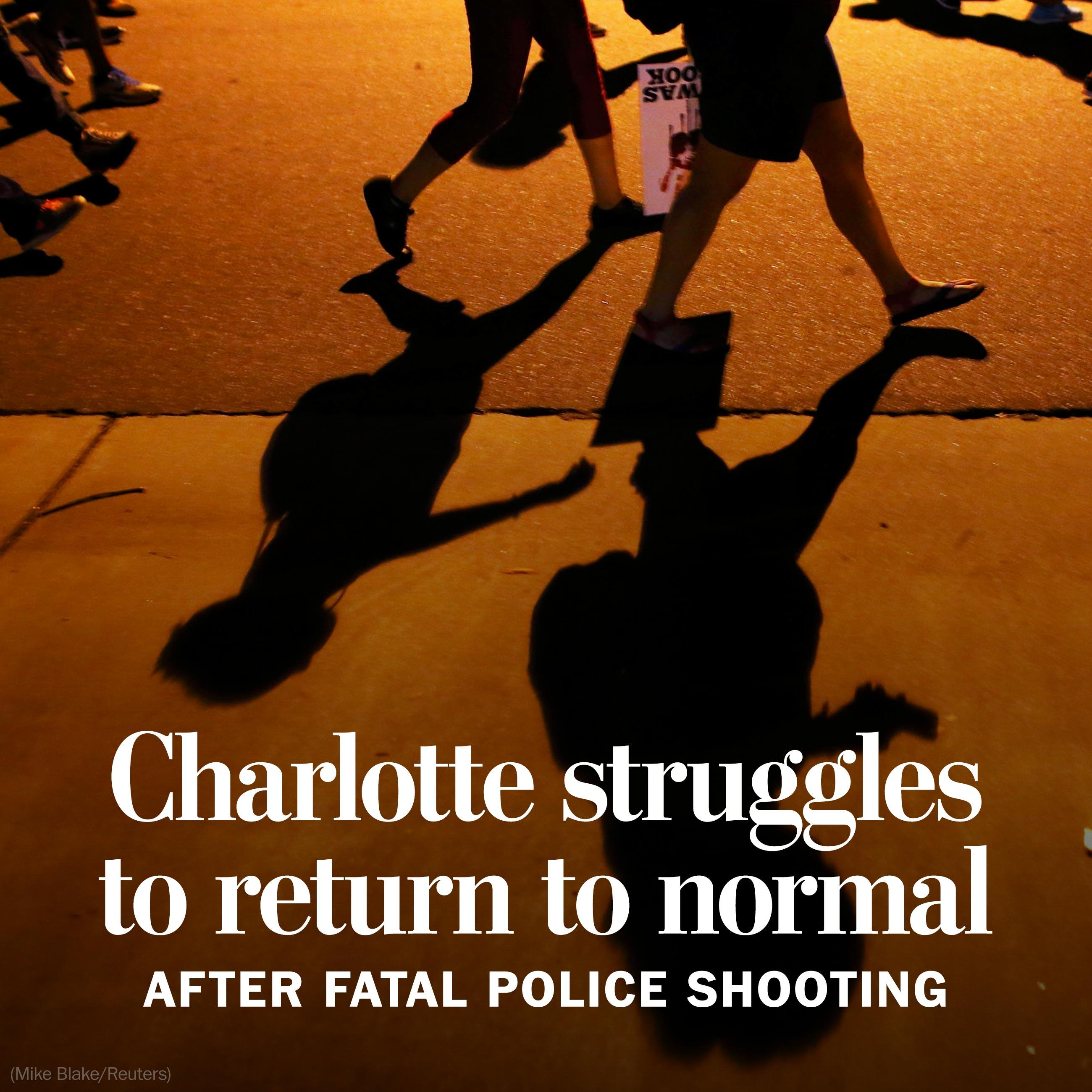 Charlotte struggles to return to normal after fatal police shooting