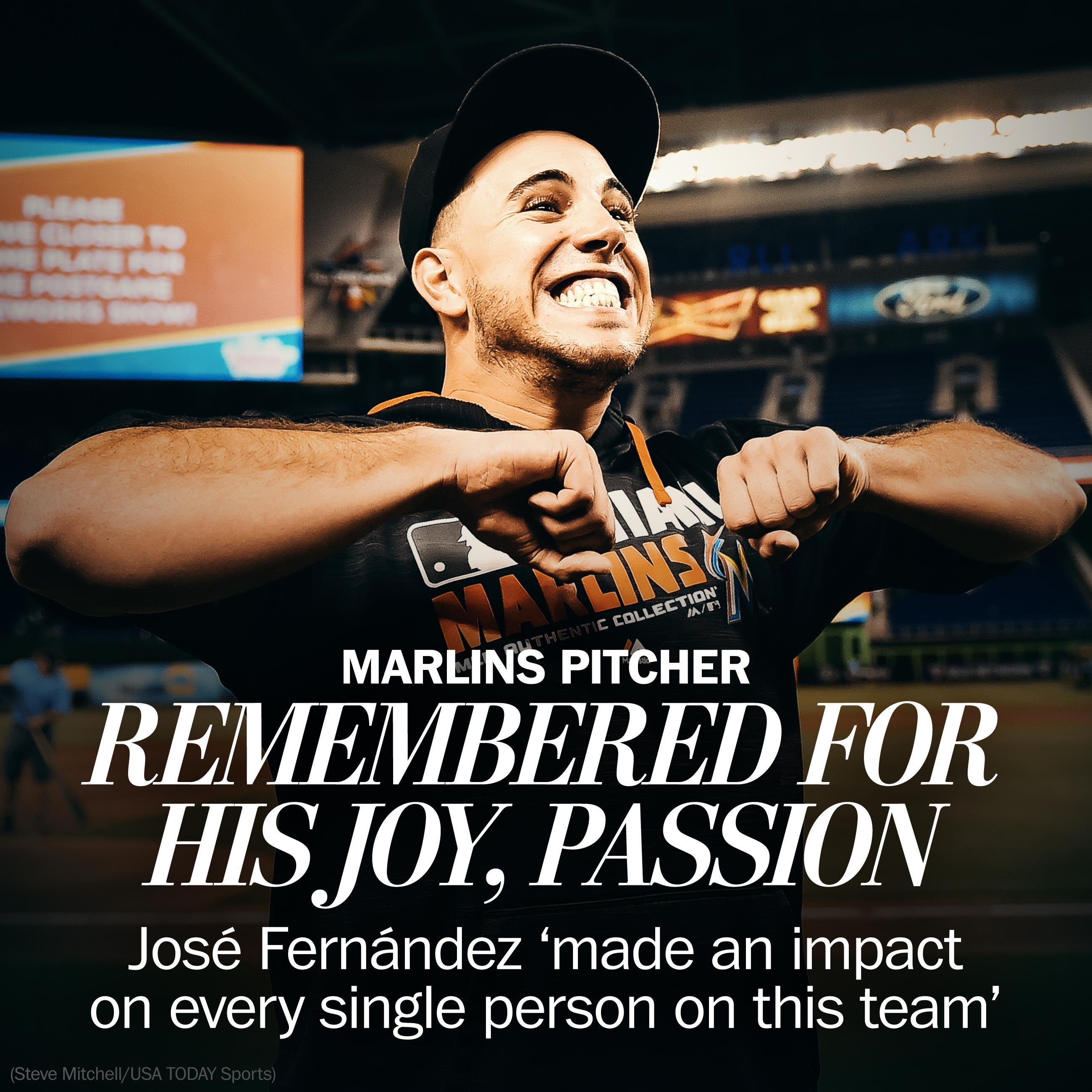 Jose Fernandez's joy on the baseball diamond makes his loss all the more sad